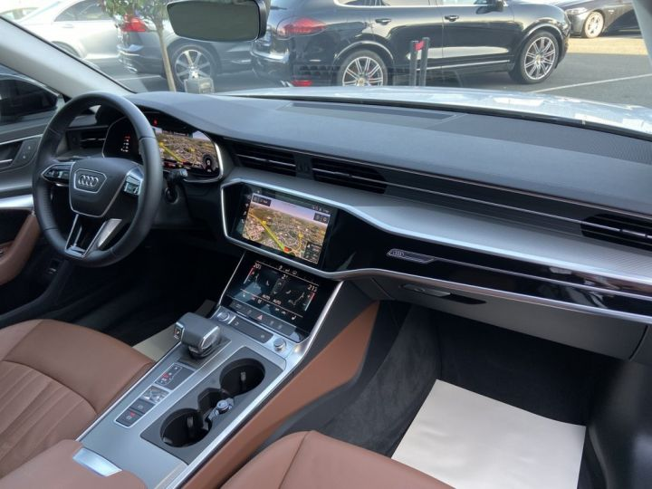 Audi A6 Avant 40 TDI 204ch S-LINE S-TRONIC Blanc - 11
