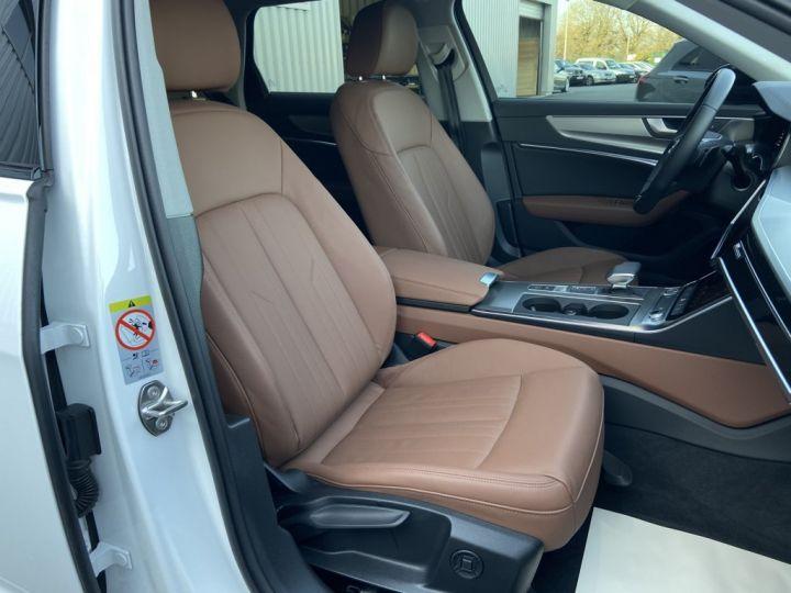 Audi A6 Avant 40 TDI 204ch S-LINE S-TRONIC Blanc - 14