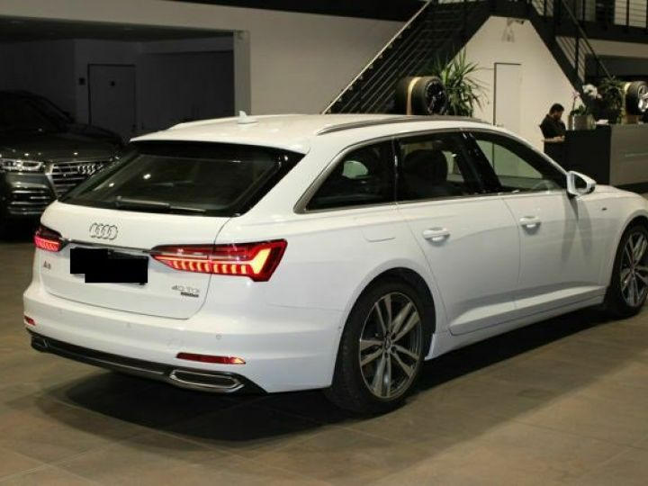 Audi A6 Avant 40 TDI QUATTRO S LINE TIPTRONIC blanc  Occasion - 5