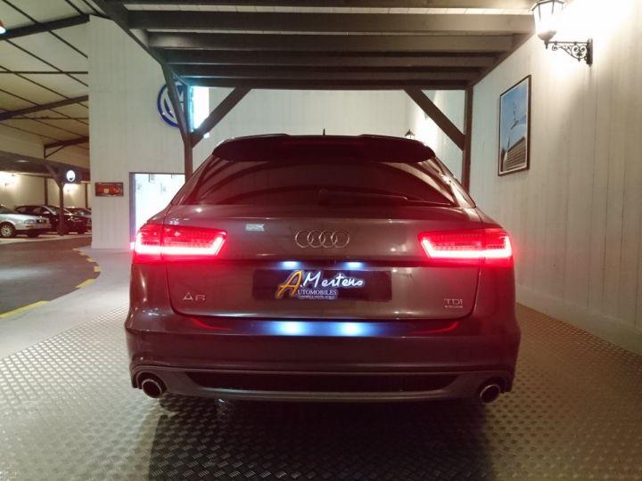 Audi A6 Avant AVANT 3.0 TDI 313 S LINE QUATTRO TIPTRONIC gris metal - 4