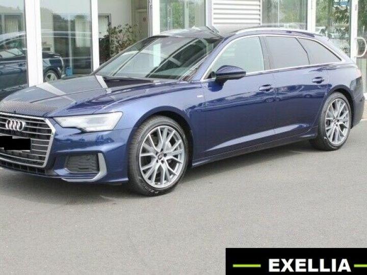 Audi A6 Avant AVANT 45 TFSI S TRONIC S LINE QUATTRO  BLEU  Occasion - 1