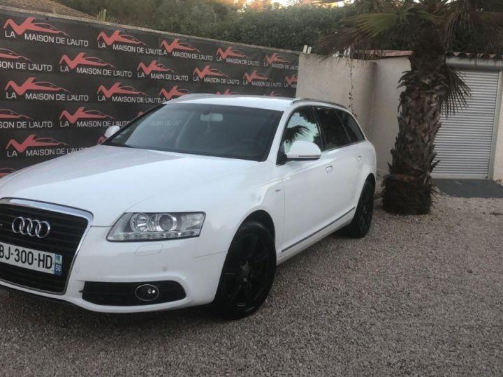 Audi A6 Avant Pack Business S-Line BLANC - 1