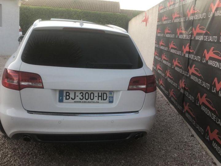 Audi A6 Avant Pack Business S-Line BLANC - 4
