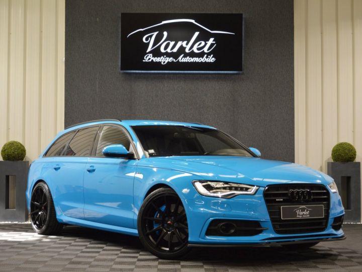 Audi A6 Avant Unique audi a6 c7 avant 3.0 v6 bi tdi 313ch tiptro pack audi exclusive riviera blue full options +++ AUDI EXCLUSIVE RIVIERA BLUE - 1