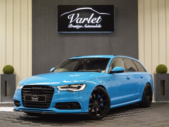 Audi A6 Avant Unique audi a6 c7 avant 3.0 v6 bi tdi 313ch tiptro pack audi exclusive riviera blue full options +++ AUDI EXCLUSIVE RIVIERA BLUE - 3