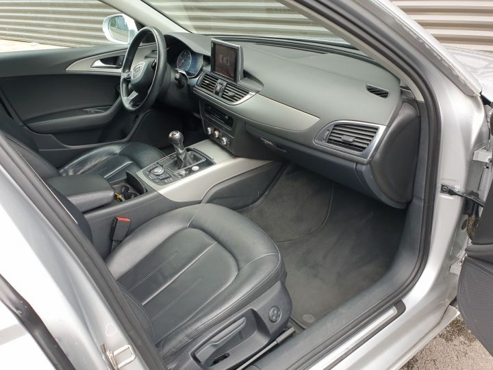 Audi A6 iv 2.0 tdi 177 ambition luxe bv6 Gris Occasion - 9