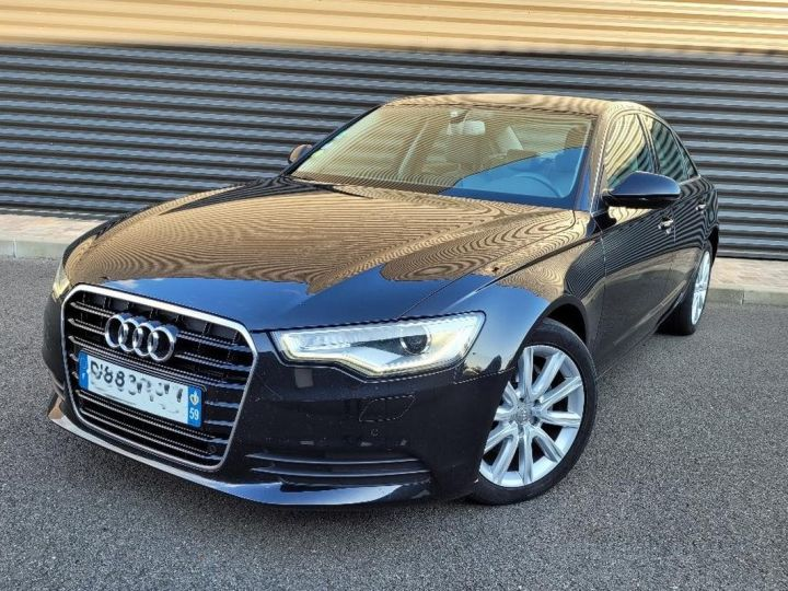 Audi A6 iv 2.0 tdi 190 ambition luxe tronic i Noir Occasion - 1