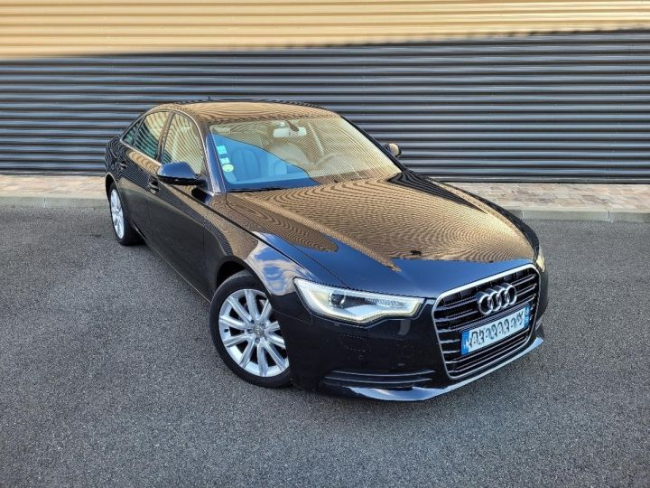Audi A6 iv 2.0 tdi 190 ambition luxe tronic i Noir Occasion - 2