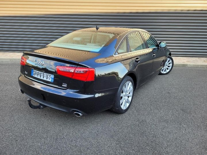 Audi A6 iv 2.0 tdi 190 ambition luxe tronic i Noir Occasion - 3