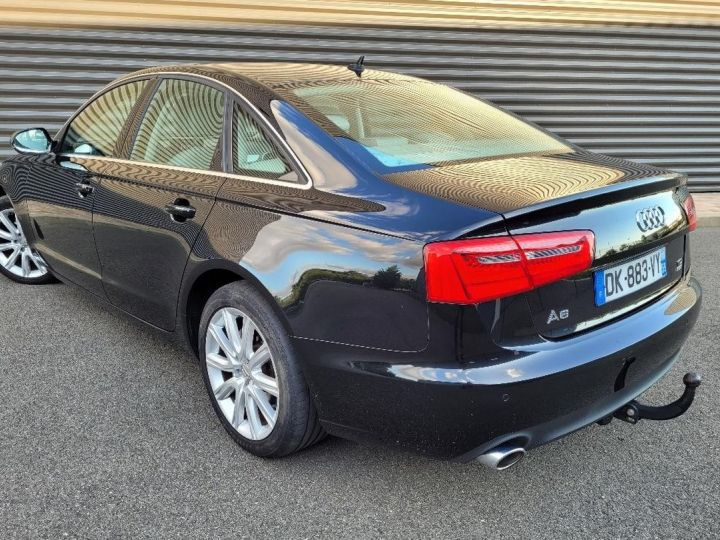 Audi A6 iv 2.0 tdi 190 ambition luxe tronic i Noir Occasion - 4