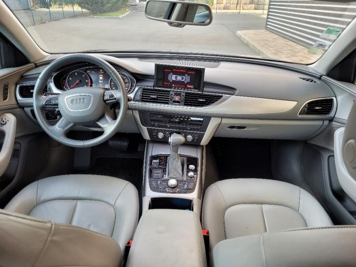 Audi A6 iv 2.0 tdi 190 ambition luxe tronic i Noir Occasion - 5