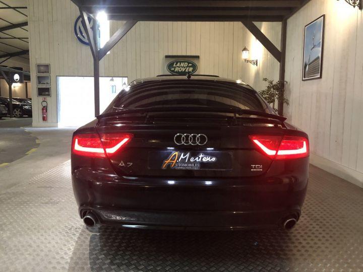 Audi A7 Sportback 3.0 TDI 245 CV AVUS QUATTRO BVA Noir - 4