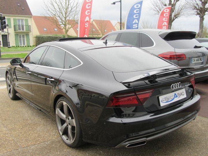 Audi A7 Sportback 3.0 V6 BITDI 320CH S LINE QUATTRO TIPTRONIC Noir Occasion - 3