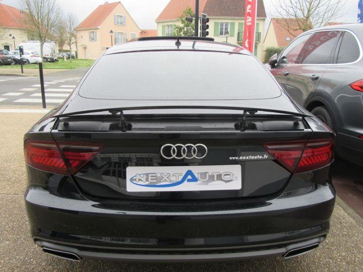 Audi A7 Sportback 3.0 V6 BITDI 320CH S LINE QUATTRO TIPTRONIC Noir Occasion - 8
