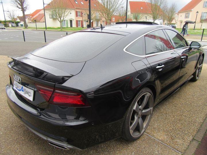 Audi A7 Sportback 3.0 V6 BITDI 320CH S LINE QUATTRO TIPTRONIC Noir Occasion - 12