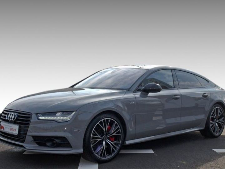 Audi A7 Sportback 3.0 V6 BITDI 326CH COMPETITION QUATTRO TIPTRONIC GRIS Occasion - 1
