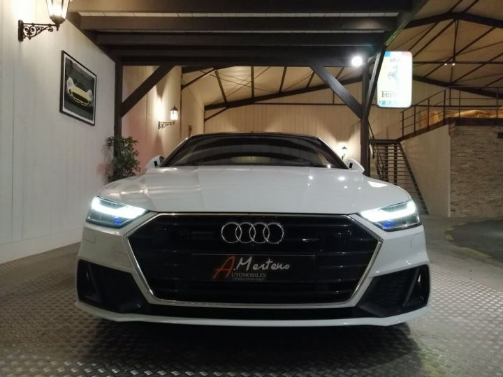 Audi A7 Sportback 50 TDI 286 CV SLINE QUATTRO BVA Blanc - 3