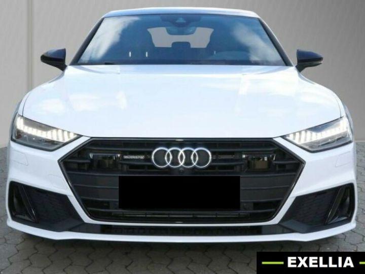 Audi A7 Sportback 55 TFSI e Quattro BLANC PEINTURE METALISE  Occasion - 1