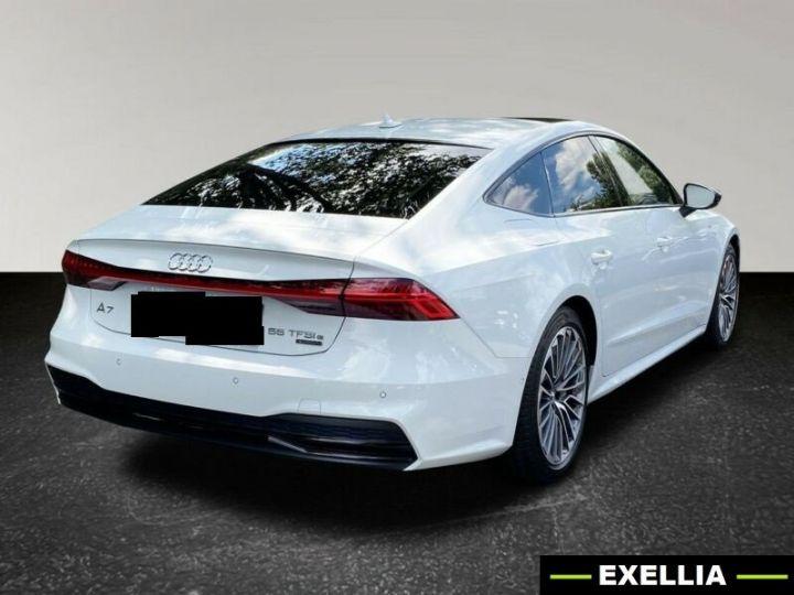 Audi A7 Sportback 55 TFSIe Quattro S Line BLANC PEINTURE METALISE  Occasion - 1
