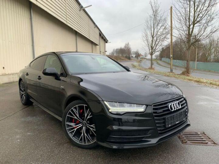 Audi A7 Sportback s line compétition  noire - 1