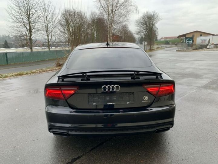 Audi A7 Sportback s line compétition  noire - 4