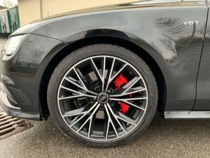 Audi A7 Sportback s line compétition  noire - 7
