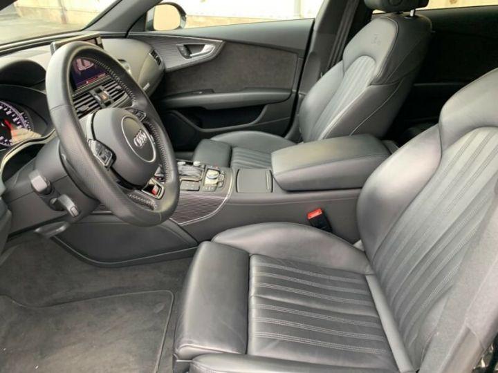 Audi A7 Sportback s line compétition  noire - 9