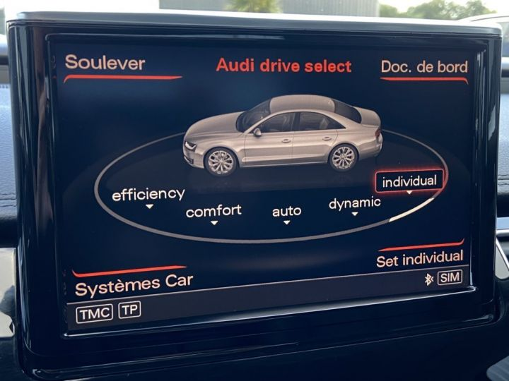 Audi A8 3.0 V6 TDI 258ch AVUS EXTENDED QUATTRO TIPTRONIC NOIR - 25