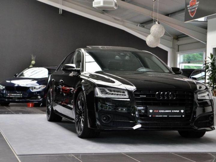 Audi A8 3.0 V6 TDI 262CH CLEAN DIESEL AVUS QUATTRO TIPTRONIC LIMOUSINE NOIR Occasion - 1