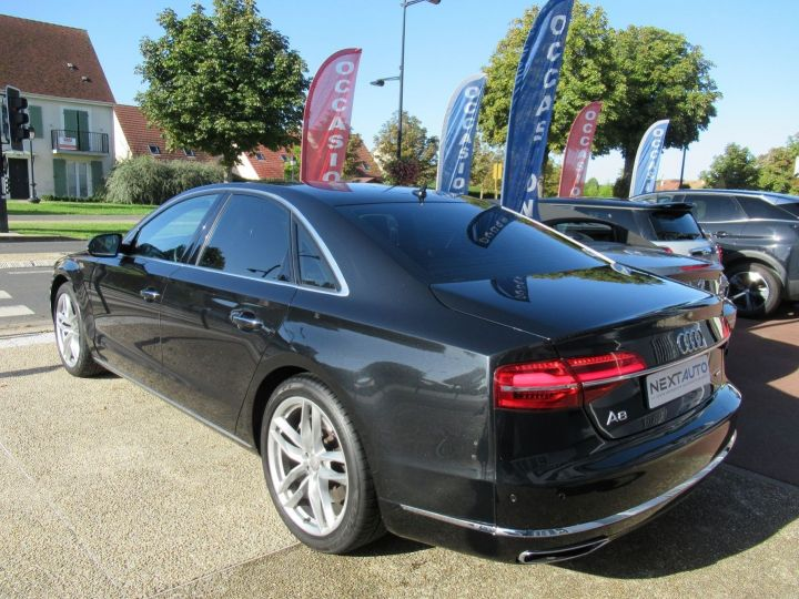 Audi A8 4.2 V8 TDI 385CH CLEAN DIESEL AVUS EXTENDED QUATTRO TIPTRONIC EURO6 Noir - 3
