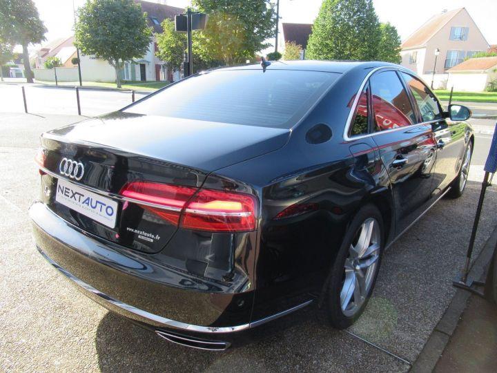 Audi A8 4.2 V8 TDI 385CH CLEAN DIESEL AVUS EXTENDED QUATTRO TIPTRONIC EURO6 Noir - 10