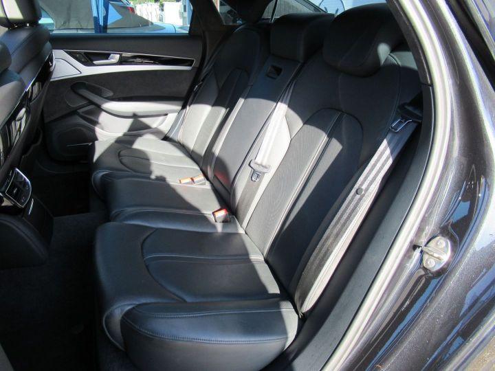 Audi A8 4.2 V8 TDI 385CH CLEAN DIESEL AVUS EXTENDED QUATTRO TIPTRONIC EURO6 Noir - 17