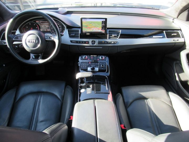 Audi A8 4.2 V8 TDI 385CH CLEAN DIESEL AVUS EXTENDED QUATTRO TIPTRONIC EURO6 Noir - 20