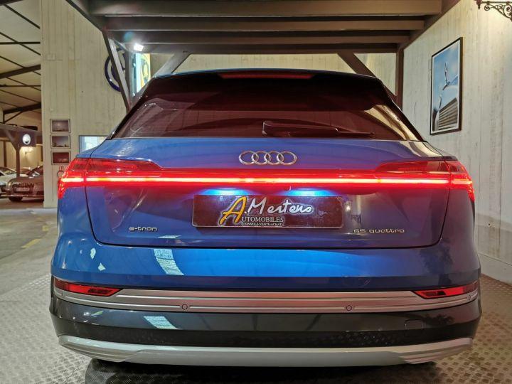 Audi E-tron 55 QUATTRO 408 CV AVUS EXTENDED Bleu - 4