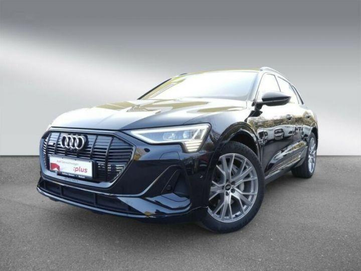 Audi E-tron s-line  noir mythos métallisé - 1