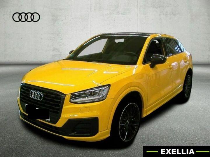Audi Q2 1.4 TFSI 150 QUATTRO S LINE EDITION  JAUNE VEGAS  Occasion - 1
