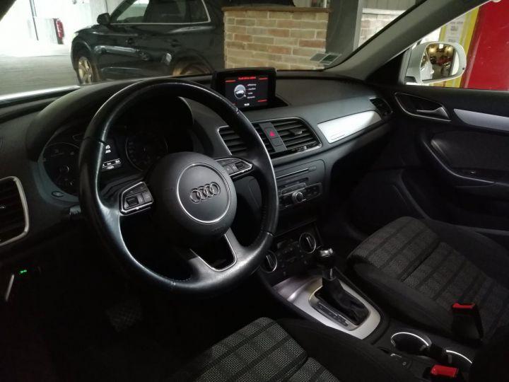 Audi Q3 2.0 TDI 150 CV QUATTRO BVA Blanc - 5