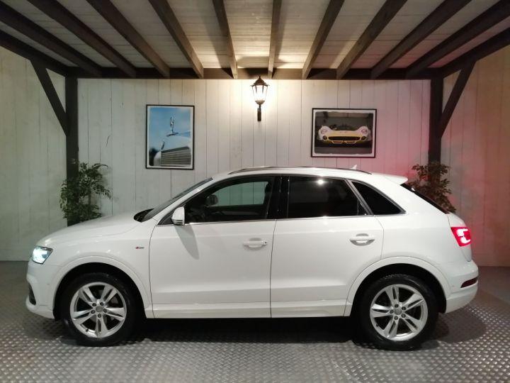 Audi Q3 2.0 TDI 150 CV SLINE QUATTRO BVA Blanc - 1
