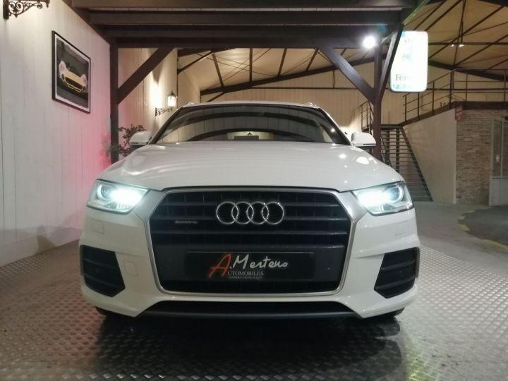 Audi Q3 2.0 TDI 150 CV SLINE QUATTRO BVA Blanc - 3