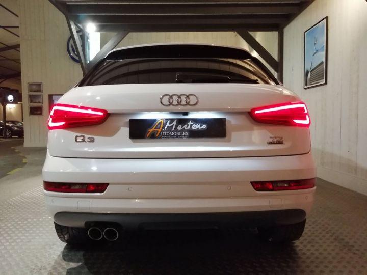 Audi Q3 2.0 TDI 150 CV SLINE QUATTRO BVA Blanc - 4