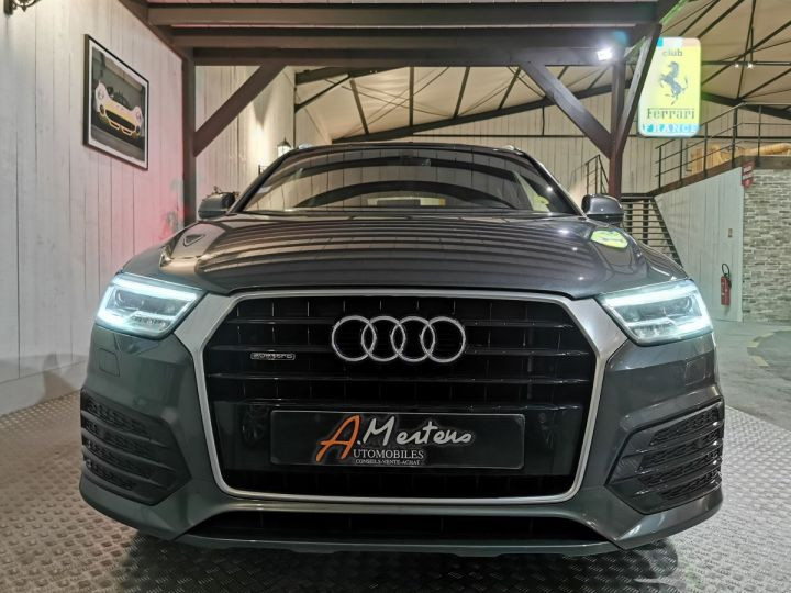 Audi Q3 2.0 TDI 150 CV SLINE QUATTRO S-TRONIC Gris - 3