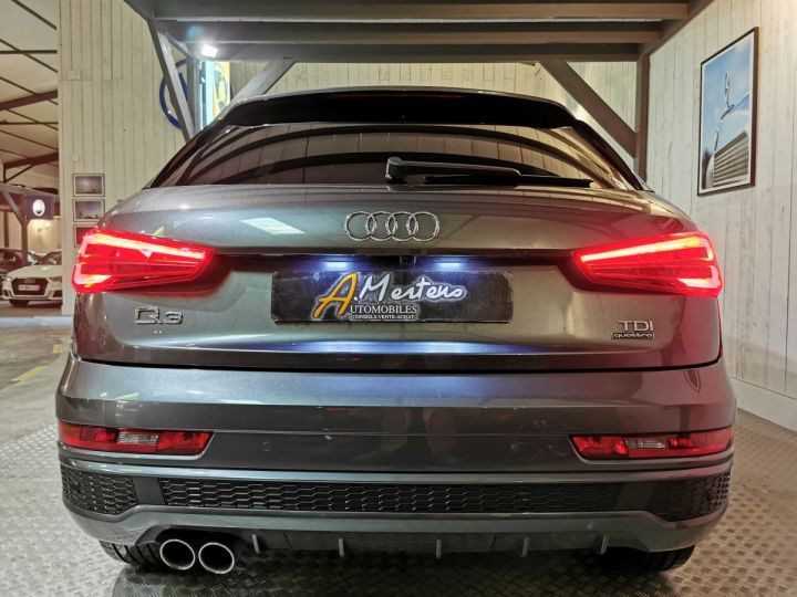 Audi Q3 2.0 TDI 150 CV SLINE QUATTRO S-TRONIC Gris - 4