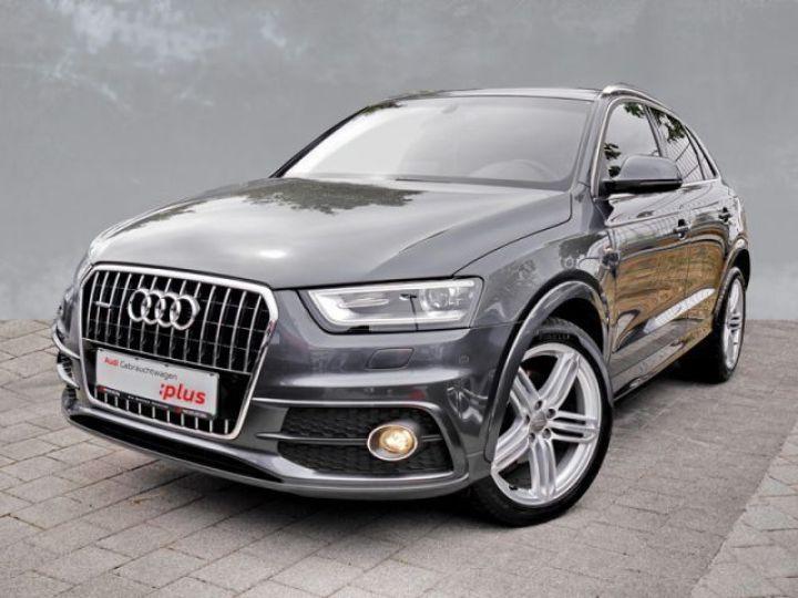 Audi Q3 2.0 TDI 177CH S LINE QUATTRO S TRONIC 7 GRIS Occasion - 1