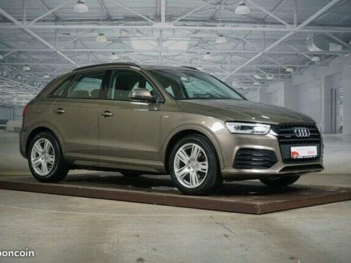 Audi Q3 2.0 TDI design quattro 2x S line LED Panorama Marron - 1