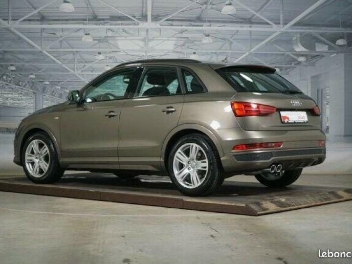 Audi Q3 2.0 TDI design quattro 2x S line LED Panorama Marron - 2