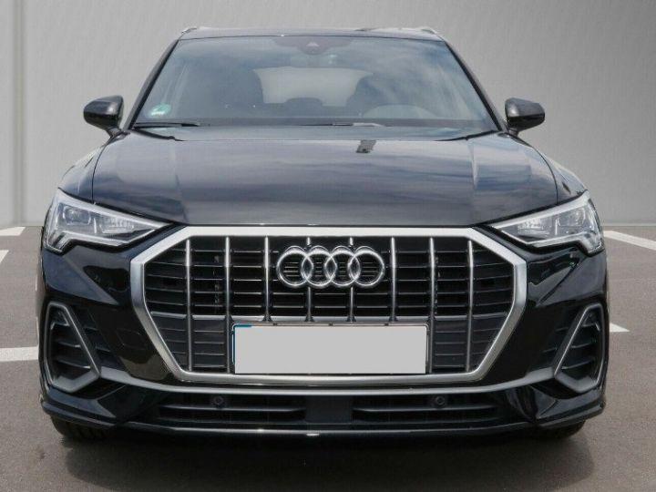 Audi Q3 35 TDI 150 S tronic S line (03/2019)* Toit panoramique* noir métal - 1