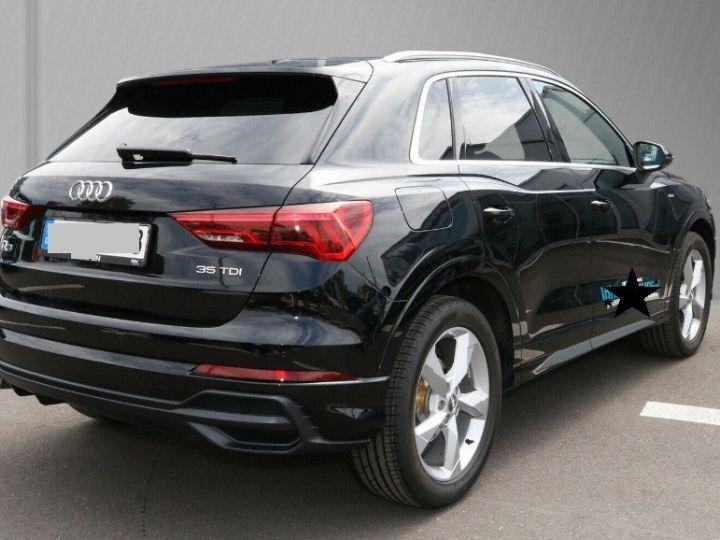 Audi Q3 35 TDI 150 S tronic S line (03/2019)* Toit panoramique* noir métal - 2