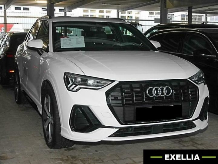 Audi Q3 35 TDI S TRONIC S LINE  BLANC Occasion - 9
