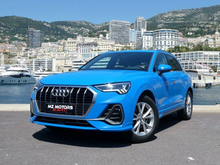 Audi Q3 35 TFSI 150 S-line S-tronic Bleu Turbo Occasion - 2