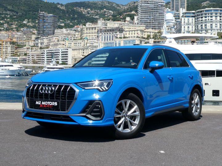 Audi Q3 35 TFSI 150 S-line S-tronic Bleu Turbo Occasion - 1